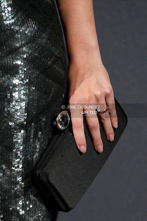 Celia Freijeiro attends Telva Awards 2012 at Hotel Palace on November 6, 2012 in Madrid, Spain