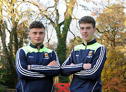 Members of Mayo&rsquo;s 2016 U21 All Ireland winning team Michael Hall and David Kenny.<br /> Pic Conor McKeown