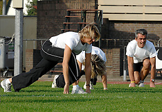 20071011 NED: Atletiek training bij Nike, Hilversum