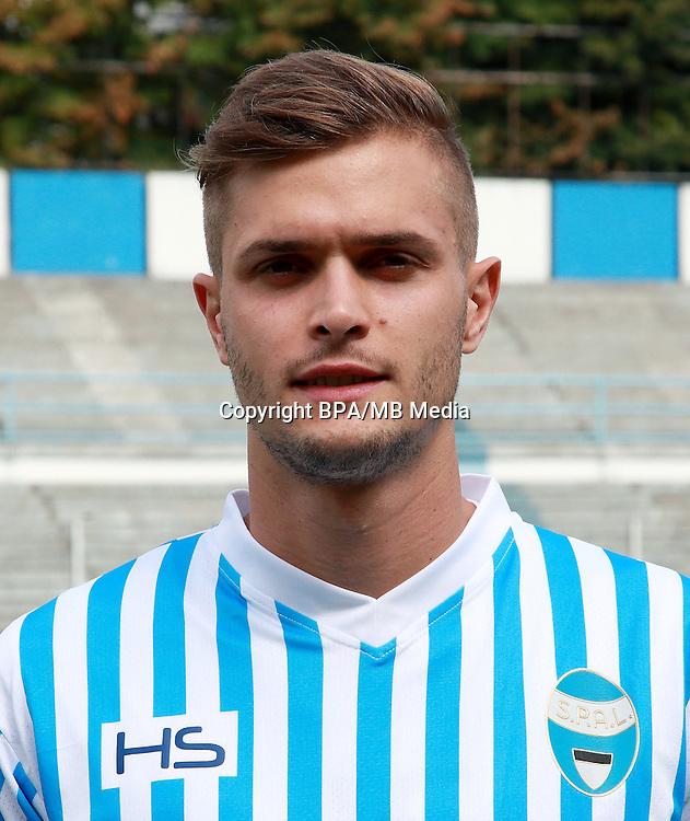 Italian League Serie B -2016-2017 / <br /> ( S.P.A.L 2013 ) - <br /> Mattia Finotto