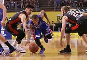 18/11/2015 NBL Adelaide 36ers vs Perth Wildcats at the Titanium Security Arena