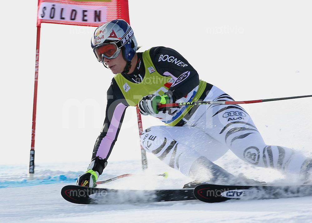 Ski Alpin; Saison 2005/2006 Riesenslalom Soelden Damen Maria Riesch (GER)