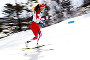 Natalie Wilkie of Canada competes in the Women's 7.5 km Standing Classic at Alpensia Biathlon Centre on Day 8 of the PyeongChang 2018 Paralympic Games on March 17, 2018 in Pyeongchang-gun, South Korea.