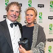 NLD/Amsterdam/20180305 - Uitreiking Buma Awards 2018, Hans van Hemert en partner