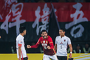 GUANGZHOU, CHINA - MARCH 16:  Ricardo Goulart of Guangzhou Evergrande celebrates after scoring a goal during the AFC CHampions League match between Guangzhou Evergrande and Urawa Red Diamonds on March 16, 2016 in Guangzhou, China.  (Photo by Aitor Alcalde Colomer/Getty Images)