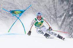 Fritz Dopfer of Germany during 1st run of Men's Giant Slalom race of FIS Alpine Ski World Cup 57th Vitranc Cup 2018, on 3.3.2018 in Podkoren, Kranjska gora, Slovenia. Photo by Urban Meglič / Sportida