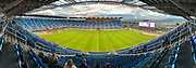 March 2, 2019; San Jose, CA, USA; (Editor's Note: Panoramic photo taken with iPhone XS Max) General view of Avaya Stadium before the match between the San Jose Earthquakes and the Montreal Impact.