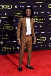 MTV Base VJ EHIZ during the MTV Africa Music Awards (MAMAS) held at the Ticketpro Dome in Johannesburg on the 22nd of October 2016<br /> <br /> Photo by: Jurgen Marx/RealTime Images