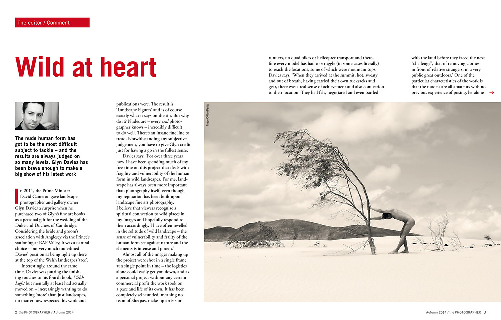Interview with BIPP magazine editor Jonathan Briggs, about my 'Landscape Figures' exhibition in August 2014