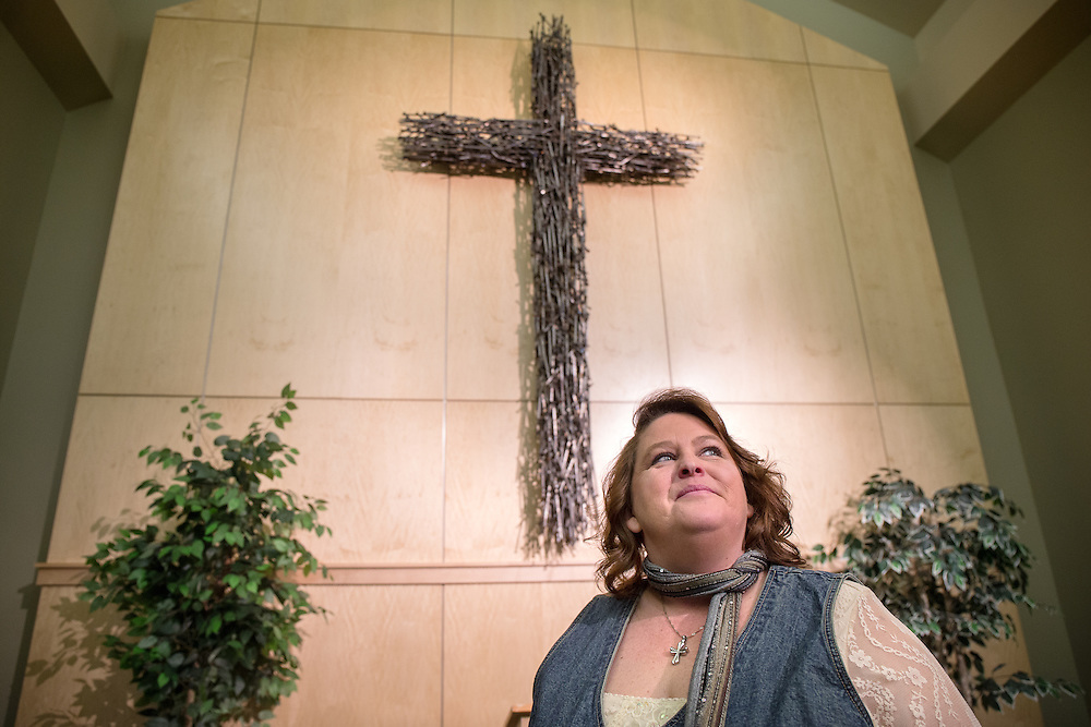 GABE GREEN/Press<br /> <br /> Darleen Haff is one of six women who, in June,  will be the first group to graduate from the Coeur d&rsquo;Alene Union gospel Mission program.