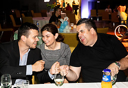 Tomas Varga, Tina Crotta and Gorazd Vecko during Closing ceremony at Day 4 of 16th Slovenia Open - Thermana Lasko 2019 Table Tennis for the Disabled, on May 11, 2019, in Thermana Lasko, Lasko, Slovenia. Photo by Vid Ponikvar / Sportida