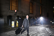 Prosecutor Andrew Edis QC leaves the Old Bailey October 31, 2013.<br /> <br /> Prosecutor Andrew Edis QC told the court that in February 2004, when the pair were both working at the media giant, they had been having a relationship for some years.<br /> <br /> Brooks will stand trial alongside former managing editor Stuart Kuttner; former news editor Ian Edmondson; and Rebekah Brooks. All deny conspiracy to intercept mobile phone voicemail messages. Coulson and former NotW royal editor Clive Goodman deny charges of conspiracy to commit misconduct in a public office. Brooks also denies two charges of this. She also faces charges of conspiracy to pervert the course of justice, along with former personal assistant Cheryl Carter, 49, husband Charlie Brooks, 50, and NI head of security Mark Hanna, 50. <br /> Photo Ki Price
