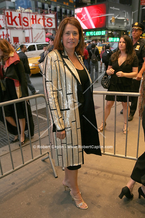 """Lorraine Bracco attends the opening of the Broadway play """"Lestat"""" at the Palace Theatre in Manhattan, Tuesday, April 25, 2006."""