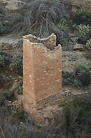 Square Tower Ruins, Hovenweep National Monument, Arizona