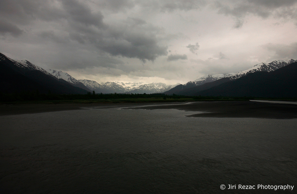 USA ALASKA 24JUN12 - Scenic landscape on the Alaska Railroad coastal classic train route from Anchorage to Seaward...Photo by Jiri Rezac / Greenpeace