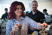 CLEO ROCOS, Cleo Rocos: The Power of Positive Drinking - book launch party , ME London, 337 Strand, London, WC2R 10 April 2013