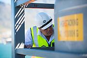 GAC Employee inspecting operations