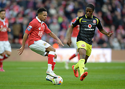 Bristol City's Korey Smith in action. - Photo mandatory by-line: Alex James/JMP - Mobile: 07966 386802 - 22/03/2015 - SPORT - Football - London - Wembley Stadium - Bristol City v Walsall - Johnstone Paint Trophy Final