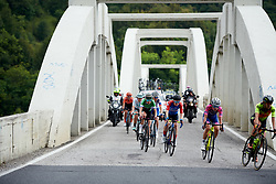 Kathrin Hammes (GER) and Sofie de Vuyst (BEL) in the chase group during Stage 8 of 2019 Giro Rosa Iccrea, a 133.3 km road race from Vittorio Veneto to Maniago, Italy on July 12, 2019. Photo by Sean Robinson/velofocus.com