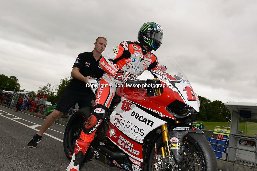 #15 John Hopkins Lloyds British Moto Rapido Ducati MCE British Superbike Championship