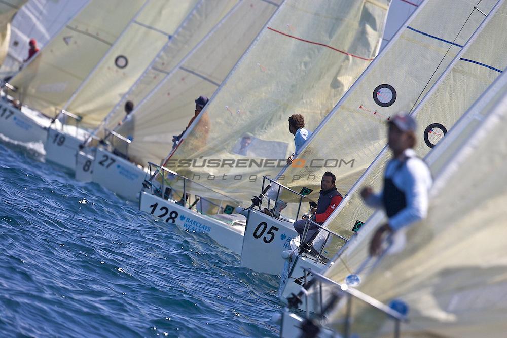santader worlds j80  regatas 6-7