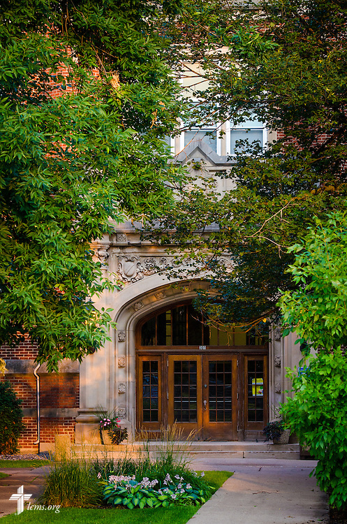 An entrance at Concordia University, Saint Paul, on Wednesday, August 6, 2014, in St. Paul, Minn.   LCMS Communications/Erik M. Lunsford