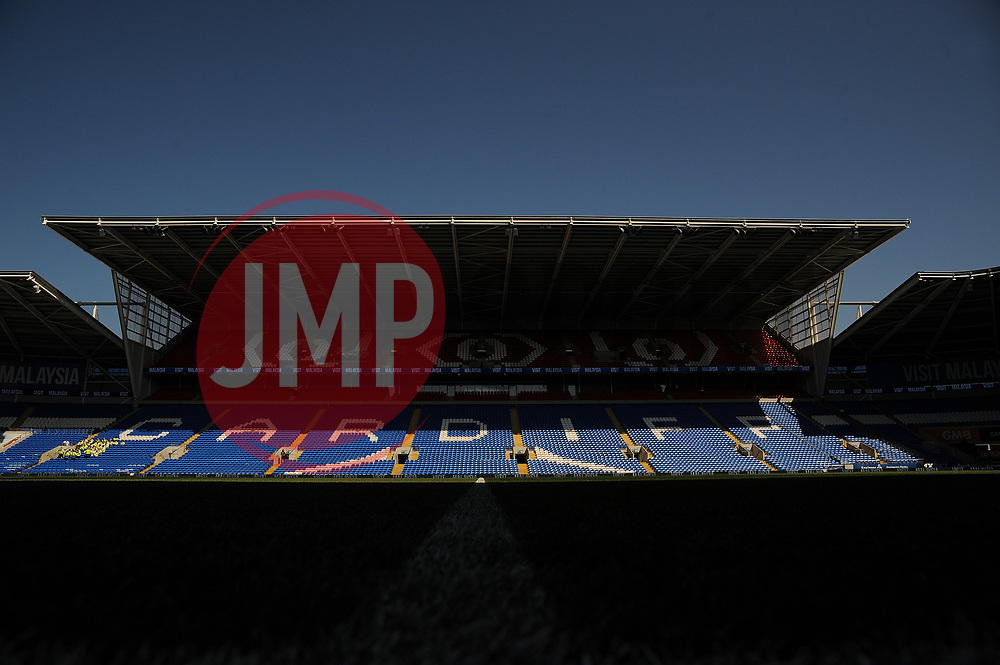 General views inside the stadium - Mandatory by-line: Nizaam Jones/JMP - 21/04/2019 -  FOOTBALL - Cardiff City Stadium - Cardiff, Wales -  Cardiff City v Liverpool - Premier League
