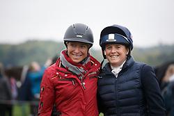 Klimke Ingrid, GER, Funnell Pippa, GBR<br /> World Championship Young Eventing Horses<br /> Mondial du Lion - Le Lion d'Angers 2016<br /> © Hippo Foto - Dirk Caremans<br /> 23/10/2016