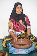 Argan oil making, Marrakesh, Morocco, North Africa