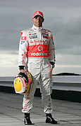 World Championship 2009, tests in Portimao, Algarve, Lewis Hamilton (GBR, Vodafone McLaren Mercedes),  exclusive photo-shoot.<br /> <br /> * Minimum usage fee of &pound;250 applies*