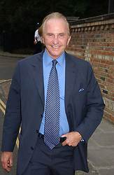 GEOFFREY KENT at Sir David & Lady Carina Frost's annual summer party held in Carlyle Square, Chelsea, London on 5th July 2006.<br />