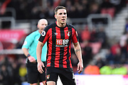 Dan Gosling (4) of AFC Bournemouth during the Premier League match between Bournemouth and Tottenham Hotspur at the Vitality Stadium, Bournemouth, England on 11 March 2018. Picture by Graham Hunt.