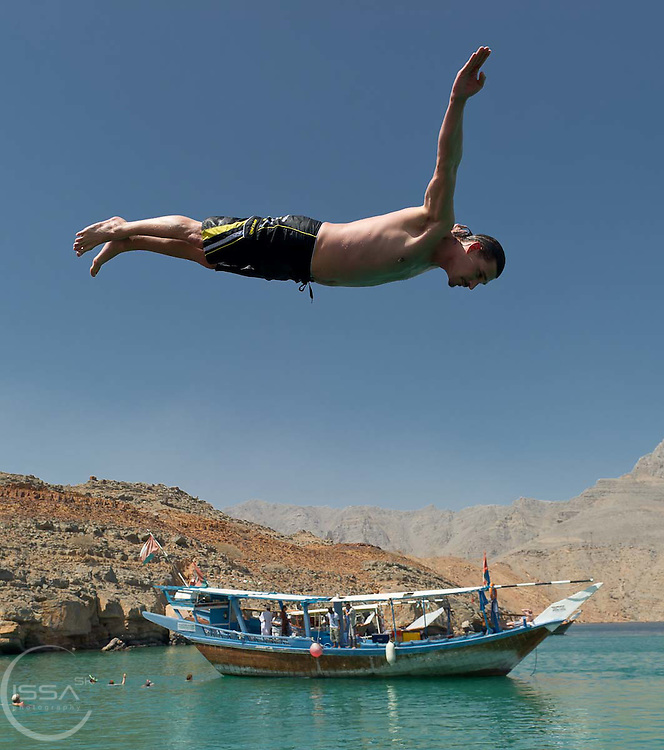 Diving into the waters of Musandam