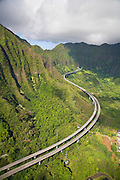 H3 freeway, Oahu, Hawaii
