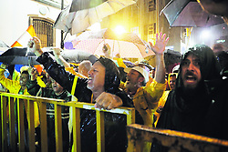 """October 6, 2018 - (06/10/2018) Las protestas se dan desde el 10 de setiembre. PROHIBIDO EL USO O REPRODUCCIÃ""""N EN COSTA RICA. (Credit Image: © Jeffrey Zamora R/La Nacion via ZUMA Press)"""