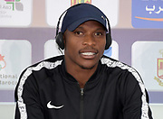 Luvo Manyonga (RSA) at an IAAF Diamond League press conference prior to the  Meeting International Mohammed VI d'Athletisme de Rabat 2019, Saturday, June 15, 2019, in Rabat, Morocco. (Image of Sport)
