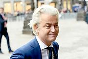 Koning Willem-Alexander en koningin Maxima houden de traditionele Nieuwjaarsontvangst voor Nederlandse genodigden in het Koninklijk Paleis op de Dam, Amsterdam<br /> <br /> King Willem-Alexander and Queen Maxima hold the traditional New Year's reception for Dutch guests in the Royal Palace on Dam Square, Amsterdam<br /> <br /> Op de foto / On the photo:  Geert Wilders
