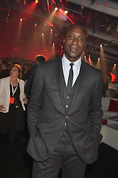 OZWALD BOATENG at the UK launch of the Ferrari California T held at Somerset House, the Strand, London on 24th April 2014.
