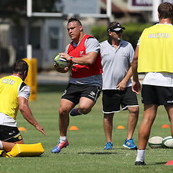 Coenie Oosthuizen during The Cell C Sharks High CNS Rugby / Skills / Field Conditioning KP2, session at Growthpoint Kings Park in Durban, South Africa. December 9th December 2016 (Photo by Steve Haag)<br /> <br /> images for social media must have consent from Steve Haag