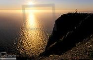 Nordkapp, Cape North in sunset, Norway, Finnmark