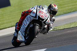 28.08.2010, Motor Speedway, Indianapolis, USA, MotoGP, Red Bull Indianapolis Grand Prix, im Bild Jorge Lorenzo - Fiat Yamaha team, EXPA Pictures © 2010, PhotoCredit: EXPA/ InsideFoto/ Semedia *** ATTENTION *** FOR AUSTRIA AND SLOVENIA USE ONLY!