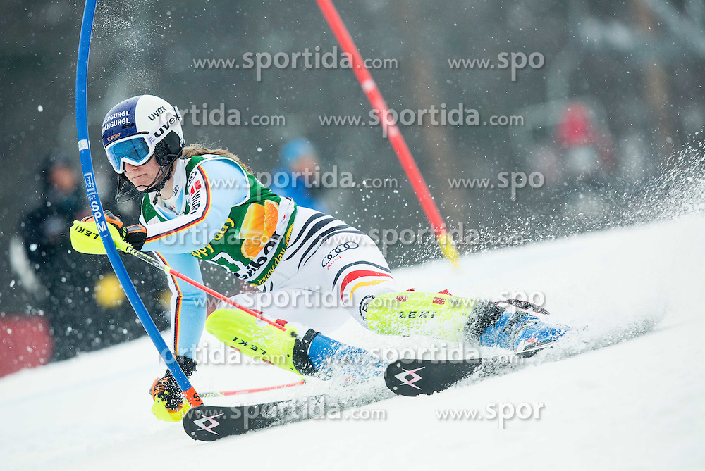 DUERR Lena (GER) competes during the 1st Run of 7th Ladies' Slalom at 51st Golden Fox of Audi FIS Ski World Cup 2014/15, on February 22, 2015 in Pohorje, Maribor, Slovenia. Photo by Vid Ponikvar / Sportida