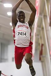Boston University John Terrier Classic Indoor Track & Field: mens triple jump, David Oluwadara BU
