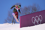 """Yuki Kadono (JPN), <br /> FEBRUARY 6, 2014 - Snowboarding : <br /> Men's Slopestyle Qualification <br /> at """"ROSA KHUTOR"""" Extreme Park <br /> during the Sochi 2014 Olympic Winter Games in Sochi, Russia. <br /> (Photo by YUTAKA/AFLO SPORT)"""