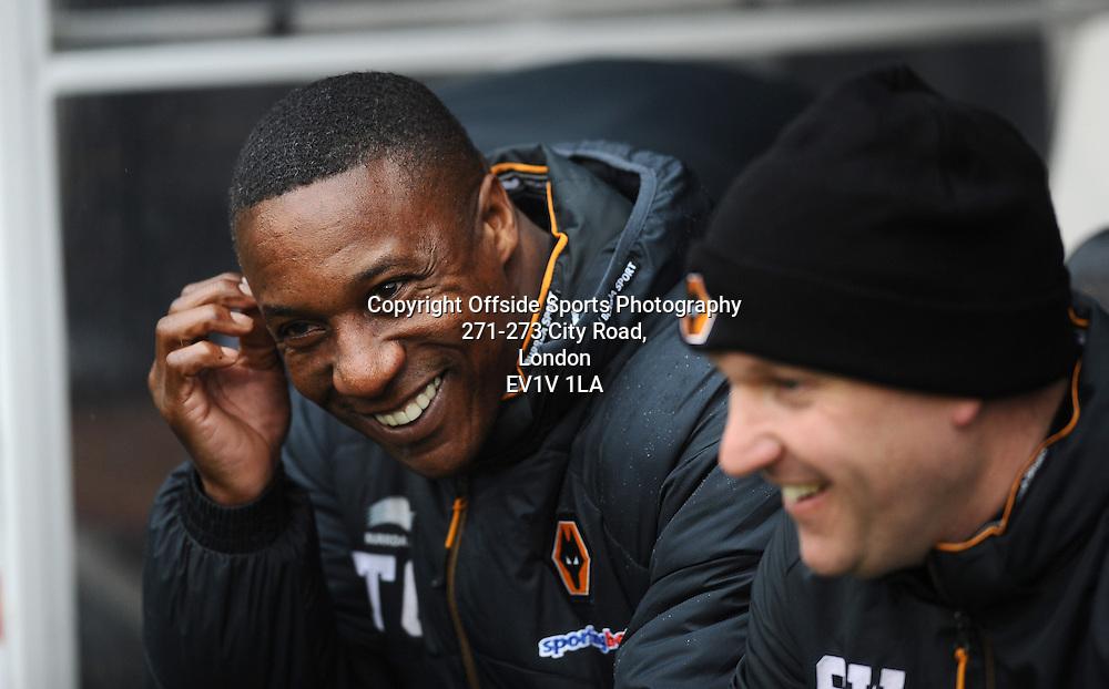 04/03/2012 - Barclays Premier League Football - 2011-2012 - Fulham v Wolverhampton Wanderers - Wolves manager Terry Conner. - Photo: Charlie Crowhurst / Offside.