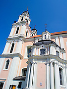 The beautiful St. Catherine's Church/<br /> Šv. Kotrynos bažnyčia, Old Town/senamiestyje, Vilnius, Lithuania