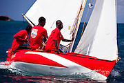 Grenada Sailing Festival 2010, Digicel Workboat Regatta, day one.