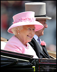 The Queen at Royal Ascot 20-6-12
