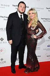 John Bradley (left) and guest attending the 9th Annual Global Gift Gala held at the Rosewood Hotel, London. Picture date: Friday November 2nd 2018. Photo credit should read: Matt Crossick/ EMPICS Entertainment.