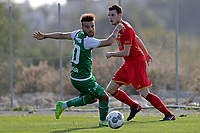 *Nicolas Luchinger* of FC St Gallen, *Thomas Ouwejan* of AZ Alkmaar,